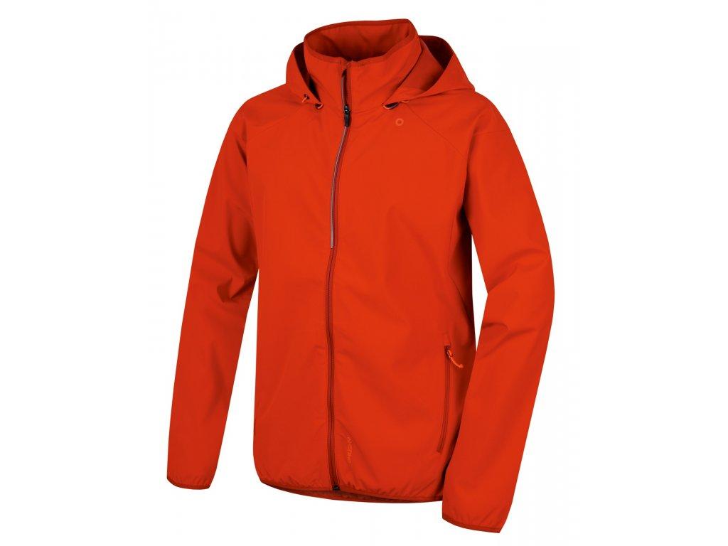 Pánská softshell bunda Sally M červená