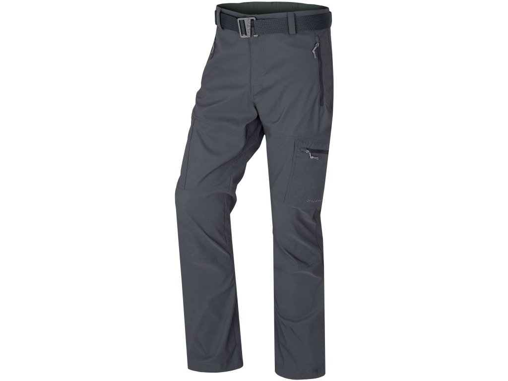Pánské outdoor kalhoty Kauby M tm. šedá