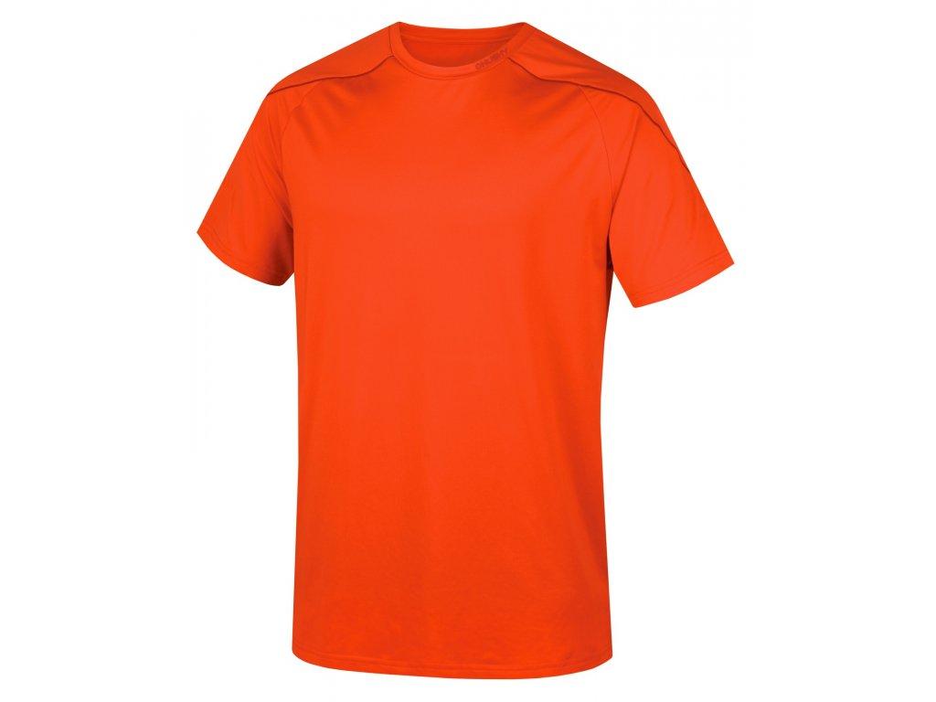 Pánské triko Taury M sv. červená