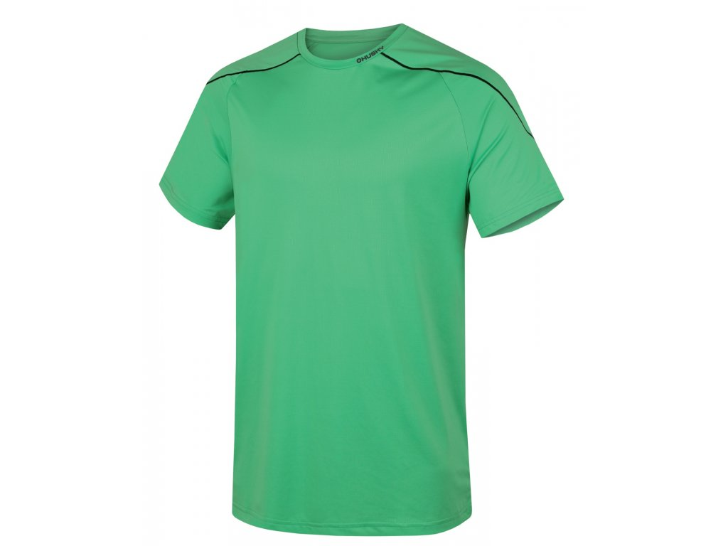 Pánské triko Taury M sv. zelená