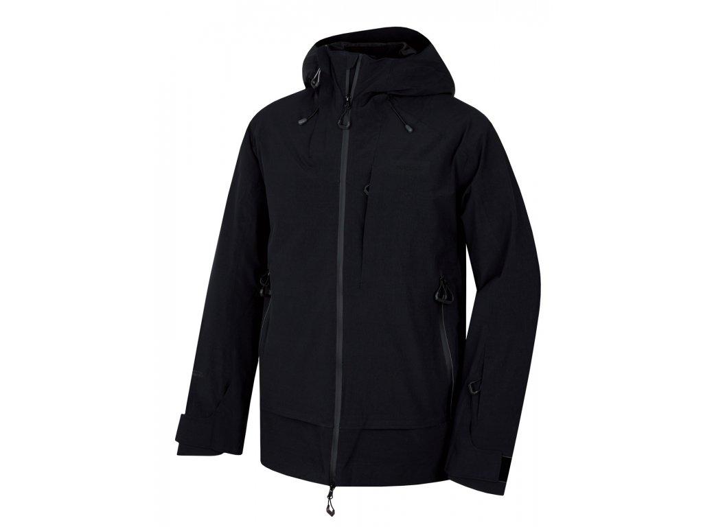 Pánská lyžařská bunda Gombi M černá