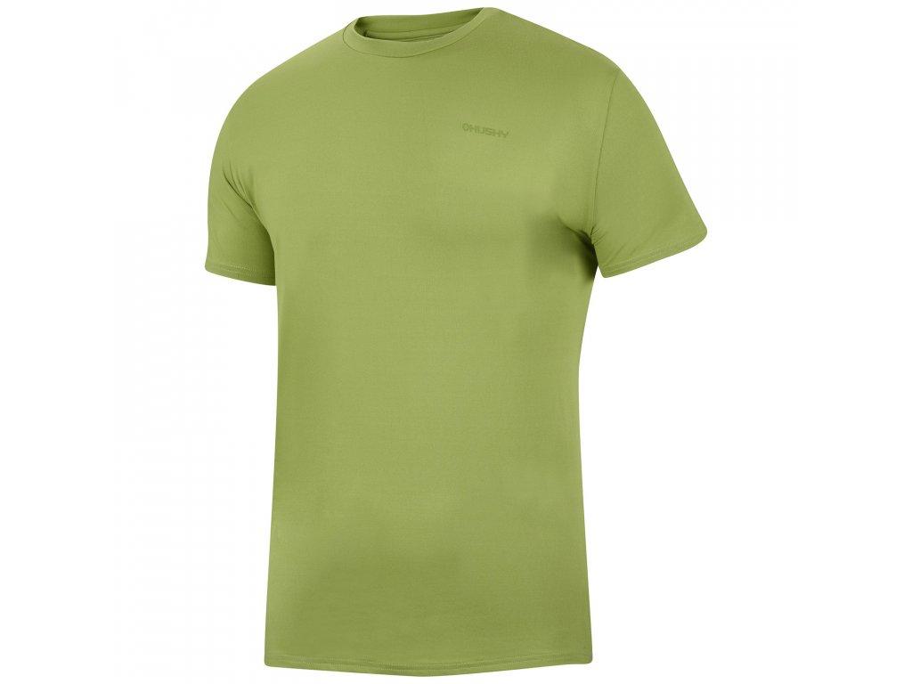 Pánské triko Tonie M tm.zelená