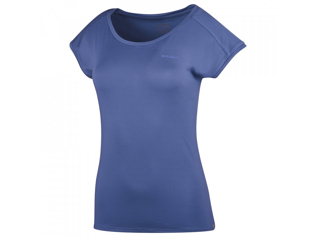 Dámské triko Tonie L modrofialová