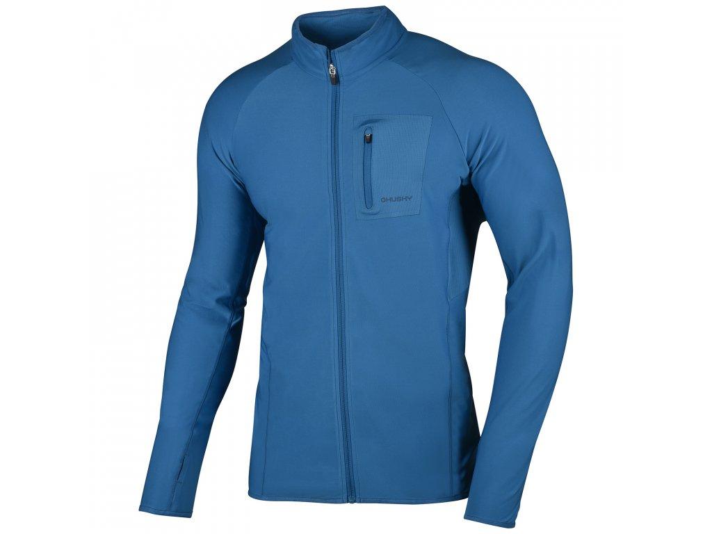 Pánská mikina Tarr zip M tm.modrá