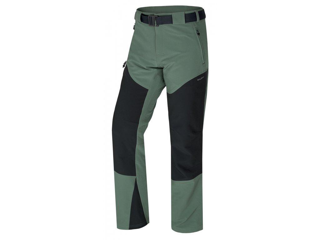 Pánské outdoor kalhoty Keiry M sv. šedozelená
