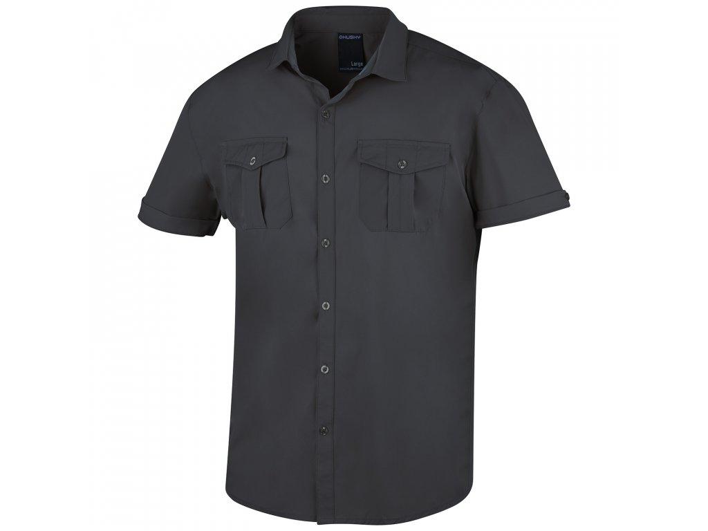 Pánská košile Gomy tm. šedá