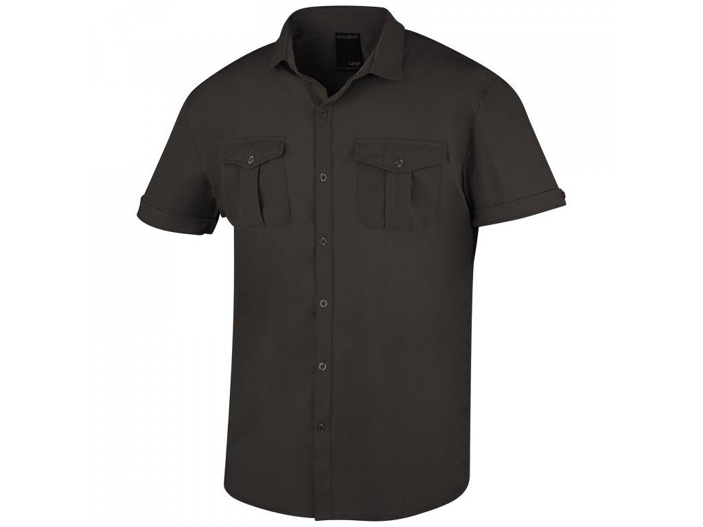 Pánská košile Gomy tm. kámen