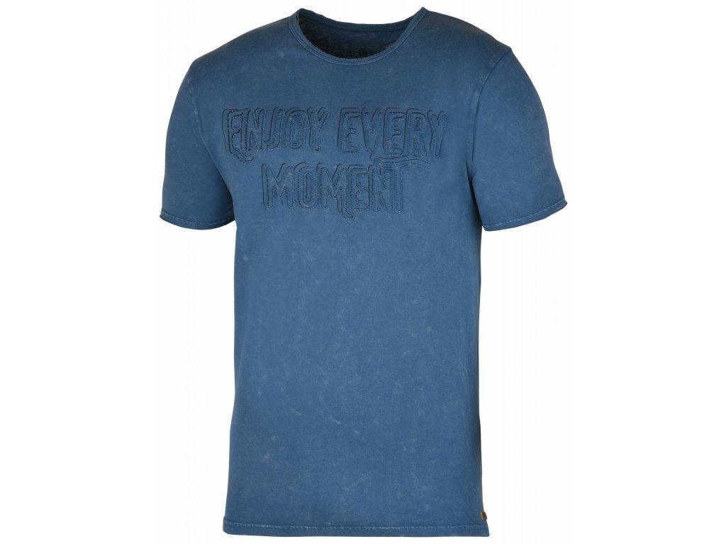 Pánské triko Bueno M tm. modrá