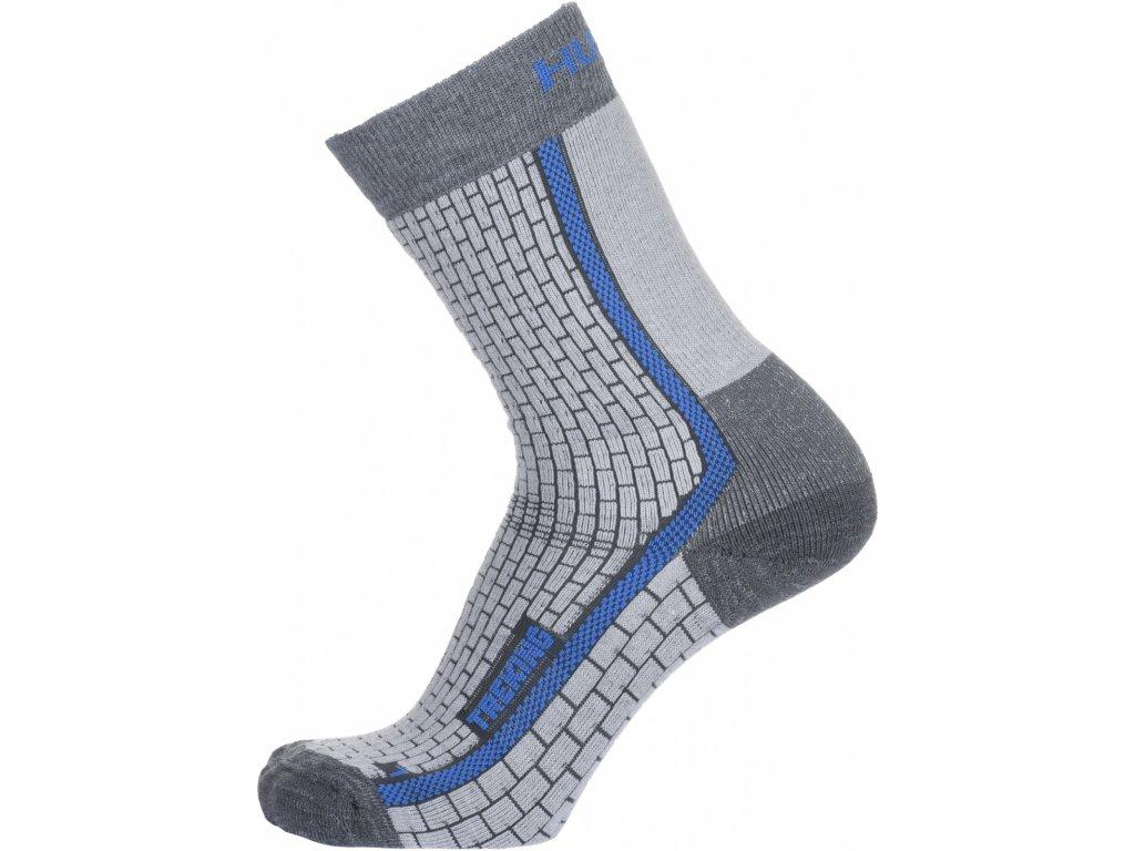 Ponožky Treking šedá/modrá