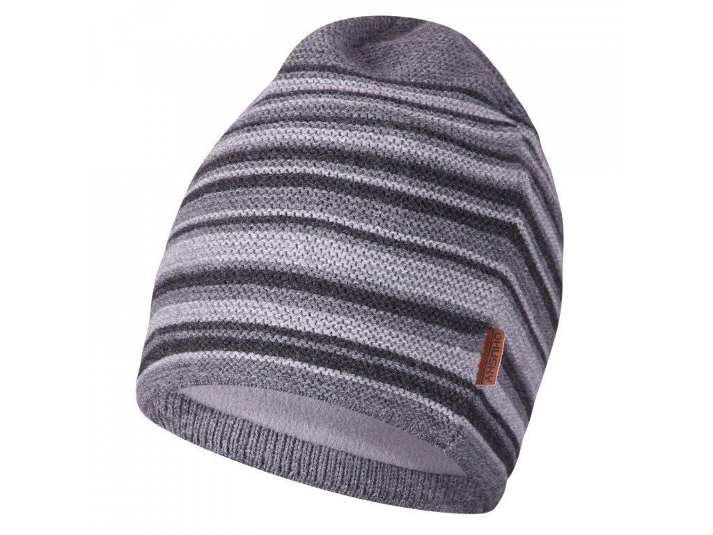 Pánská čepice Cap 22 šedá