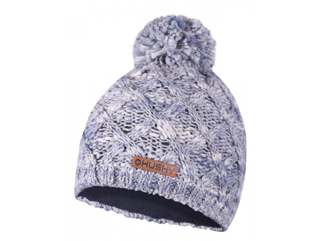 Dámská čepice Cap 28 modrá melange