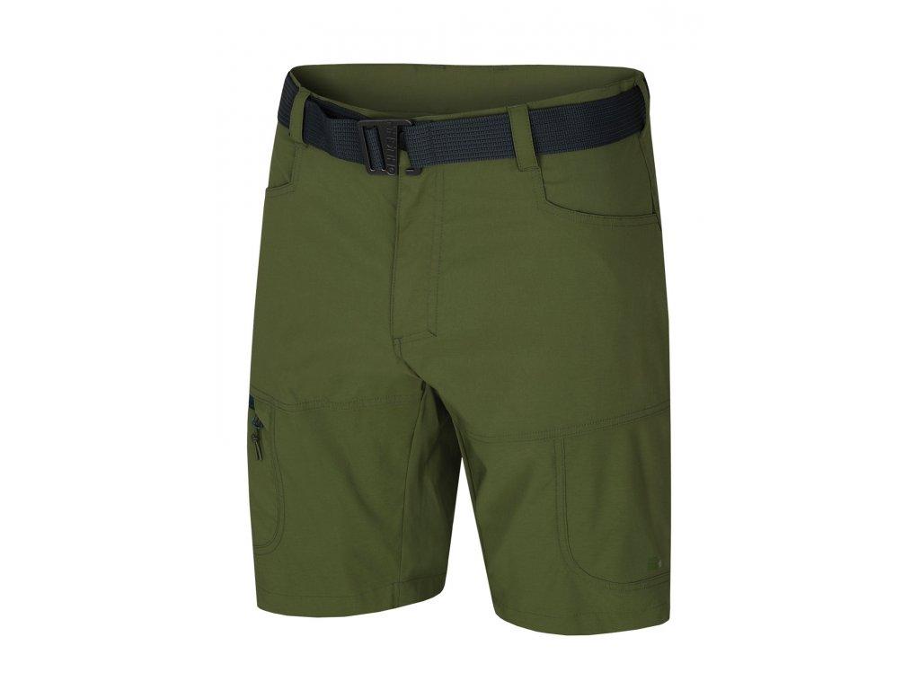 Pánské šortky Kimbi M tm.zelená