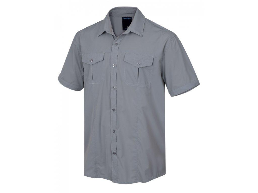Pánská košile Gomy M sv. šedá