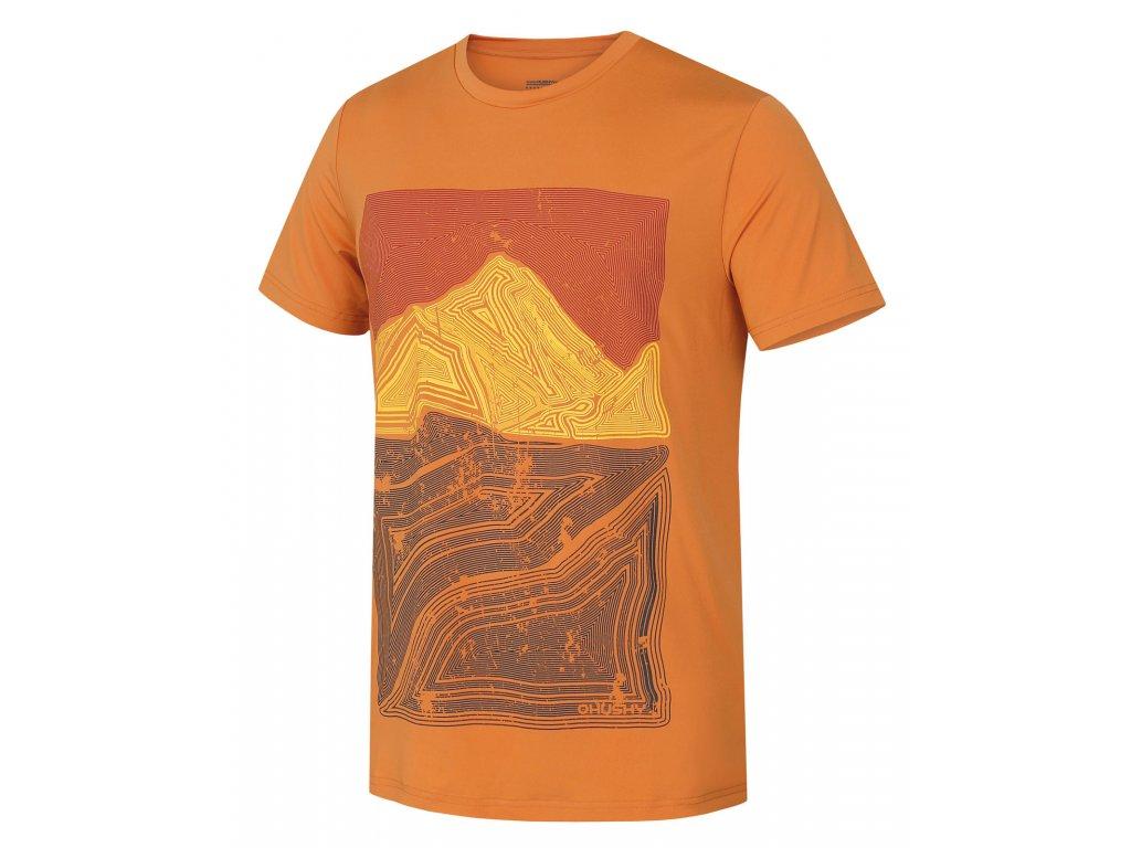 Pánské triko Tash M tl. oranžová