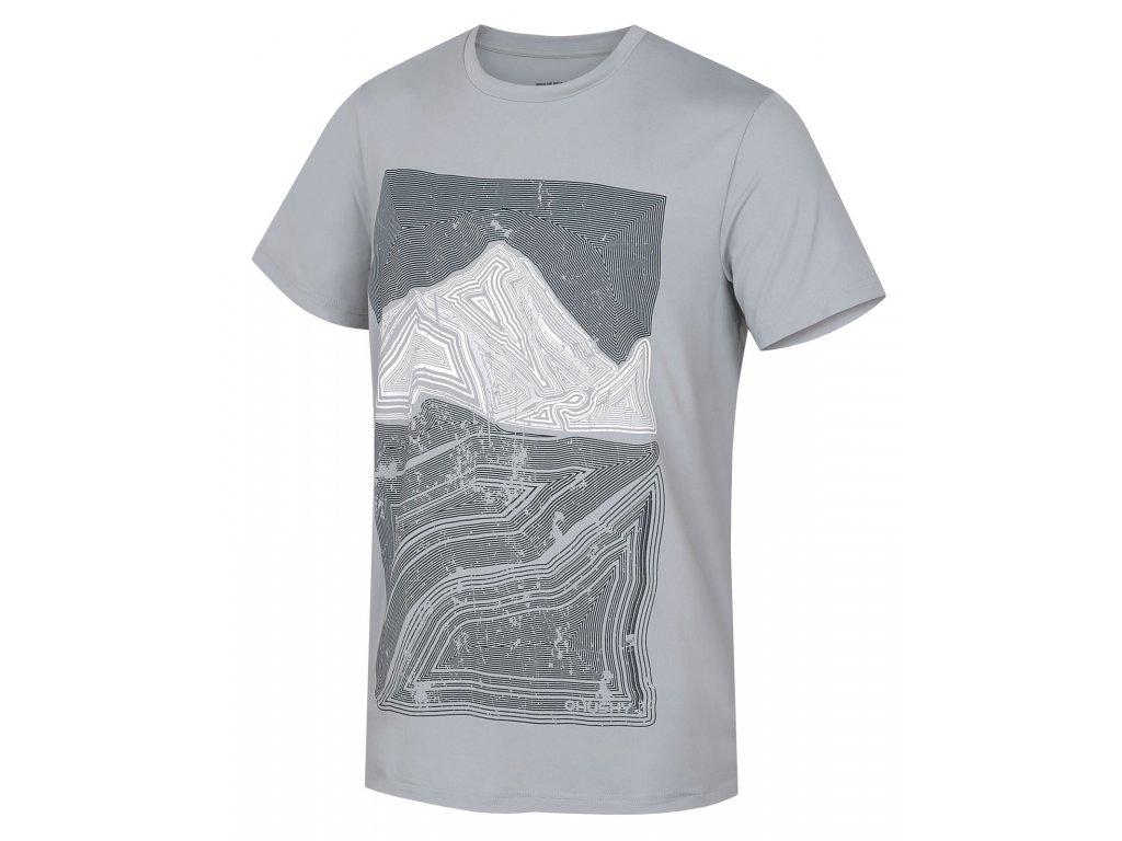 Pánské triko Tash M sv. šedá