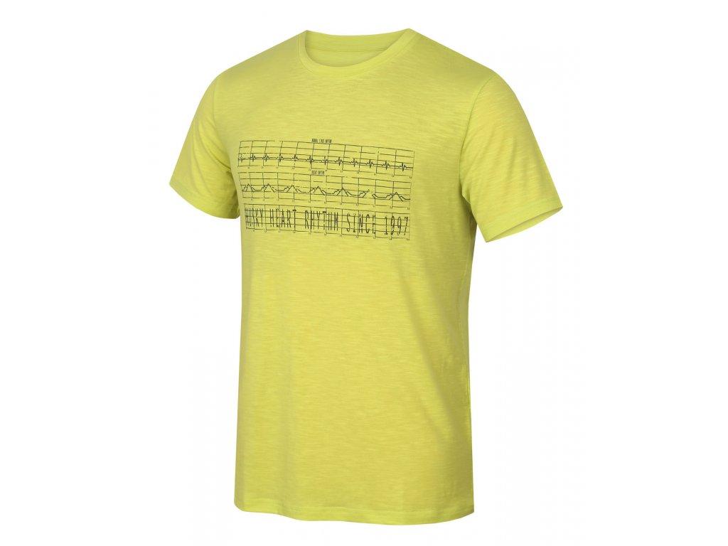 Pánské triko Tingl M sv. zelená