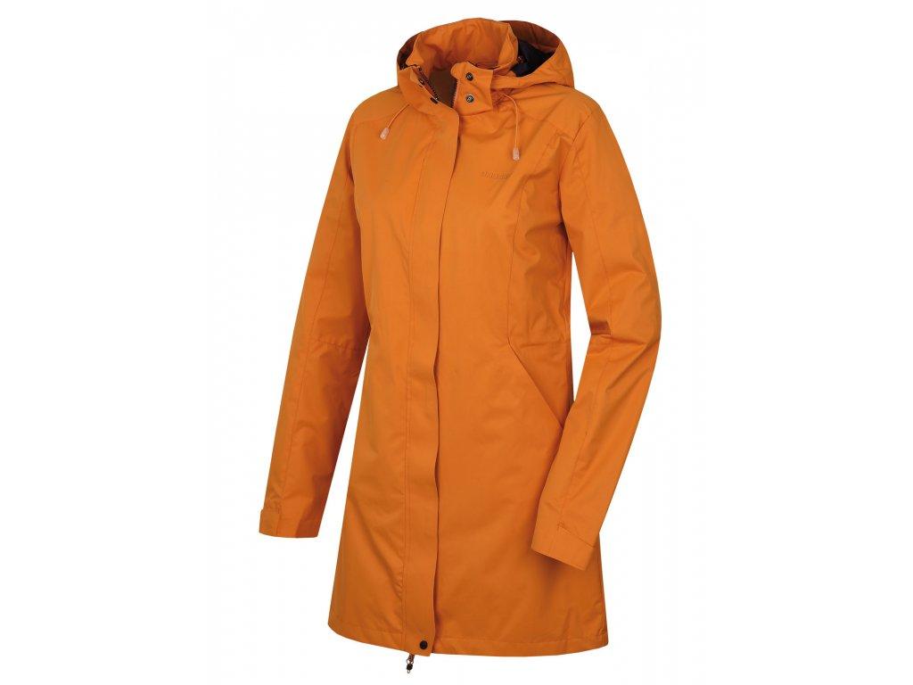 Dámský hardshellový kabát Nut L tl. oranžová  Dárek v hodnotě 199,- zdarma