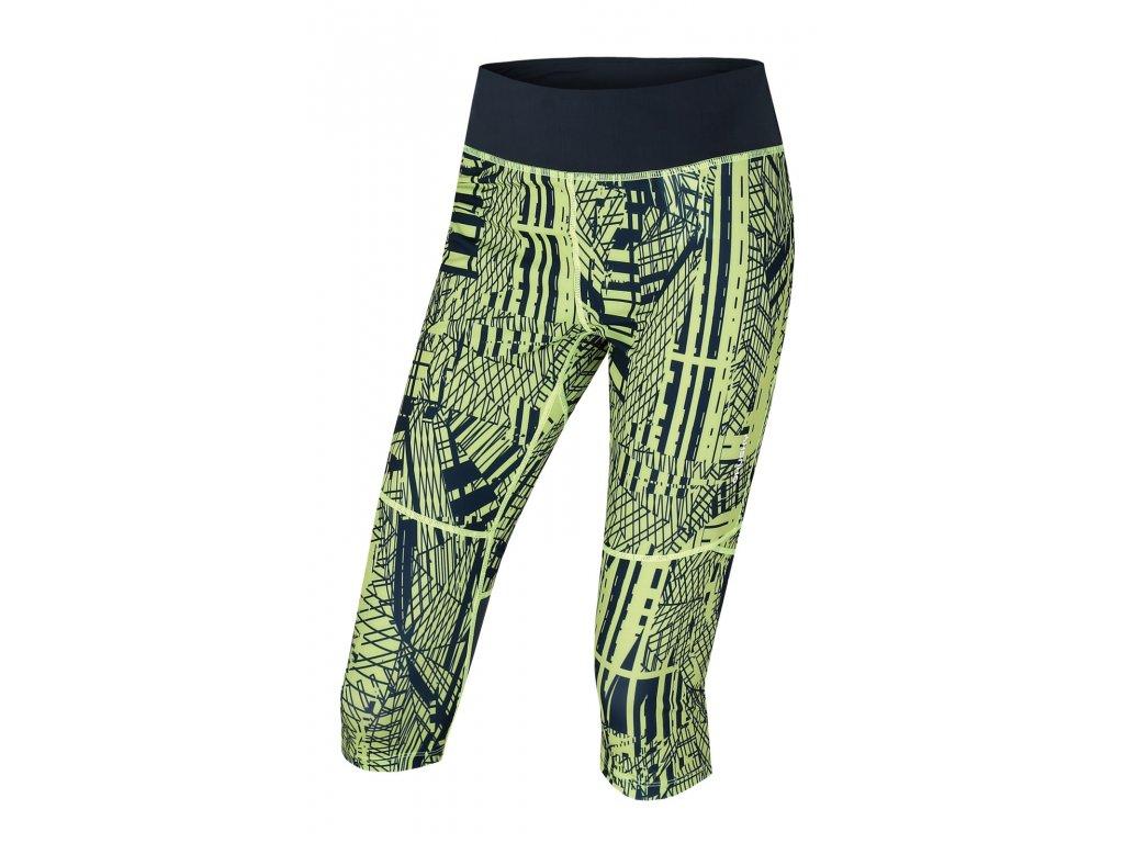 Dámské sportovní 3/4 kalhoty Darby L sv. zelená
