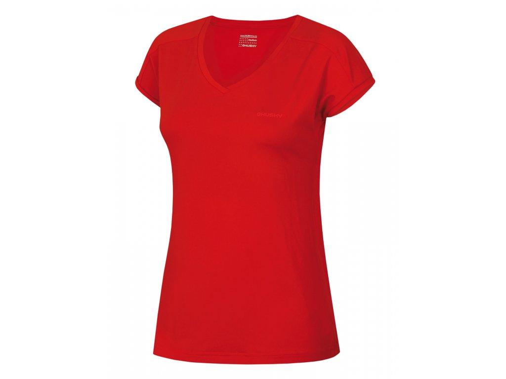 Dámské triko Tonie L červená