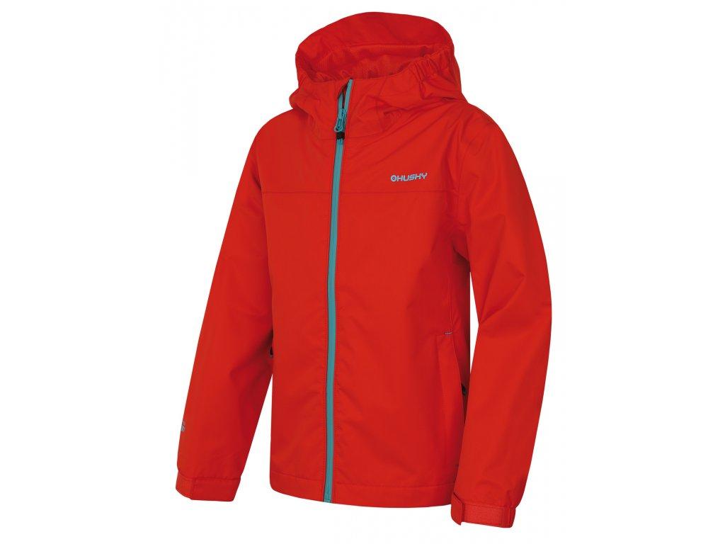 Dětská outdoorová bunda Zunat Kids červená