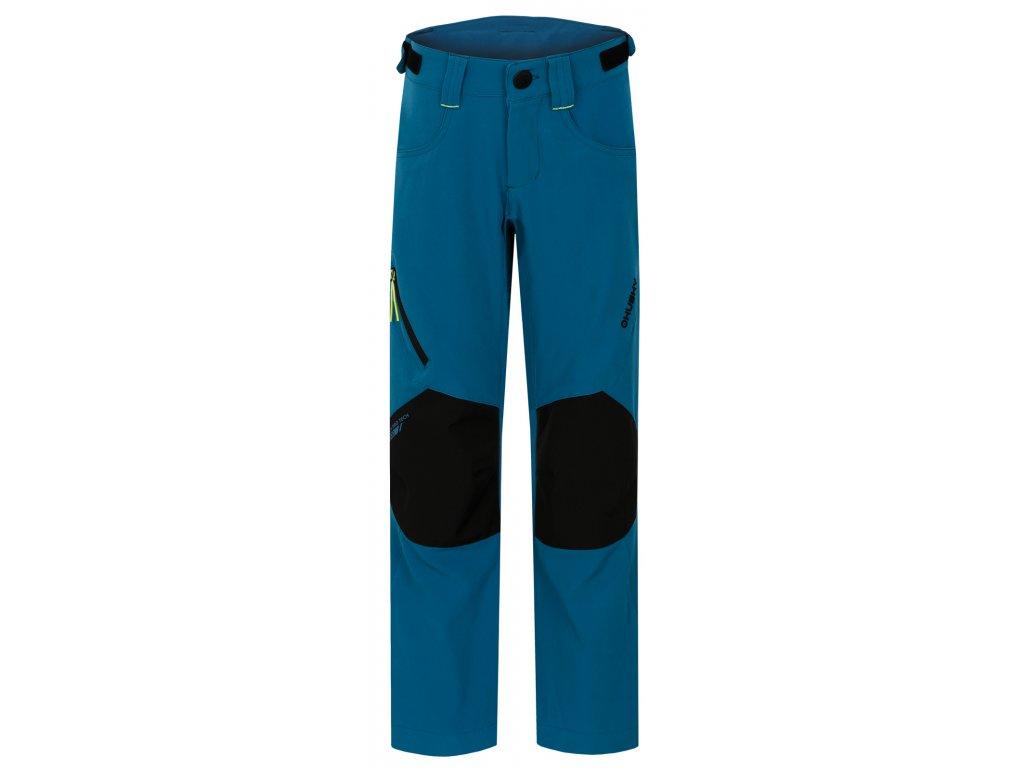 Dětské outdoor kalhoty Zony Kids tm. modrá
