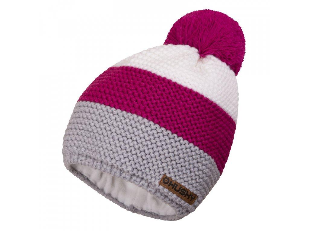 čepice Hat 4 růžová
