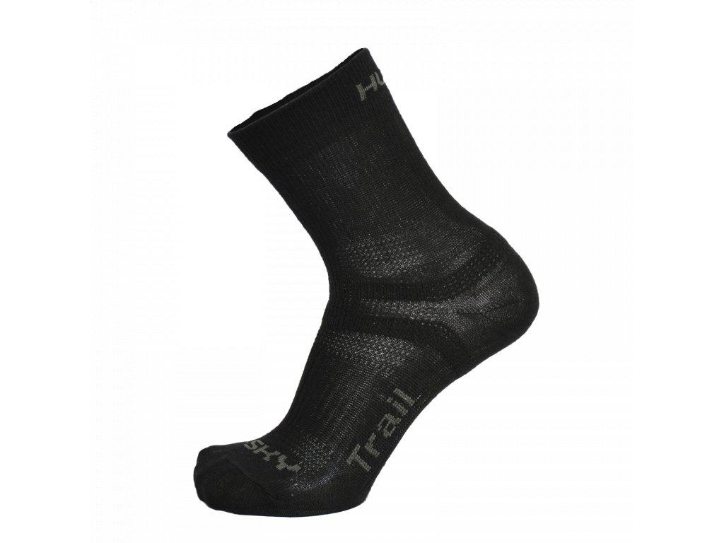 Ponožky Trail černá
