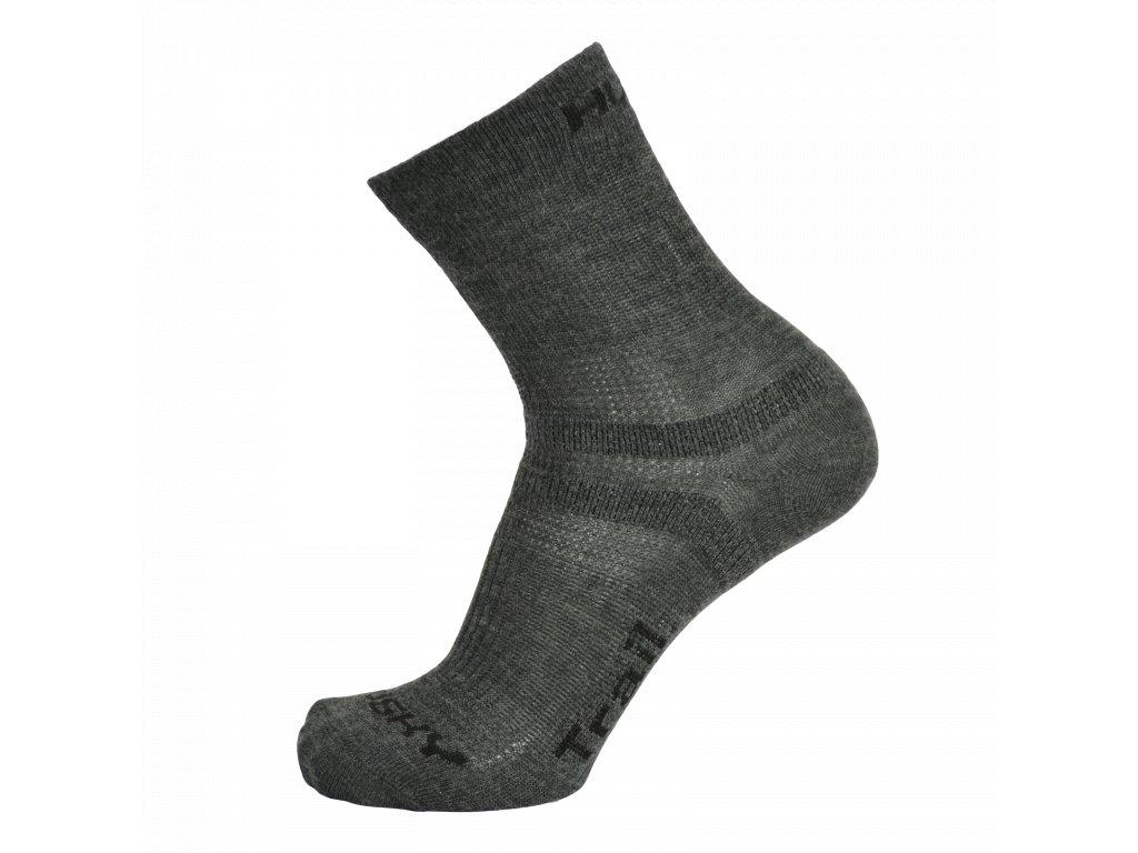 Ponožky Trail antracit