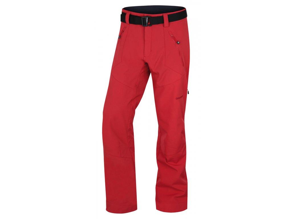 Pánské outdoor kalhoty Kresi M červená  Dárek v hodnotě 199,- zdarma