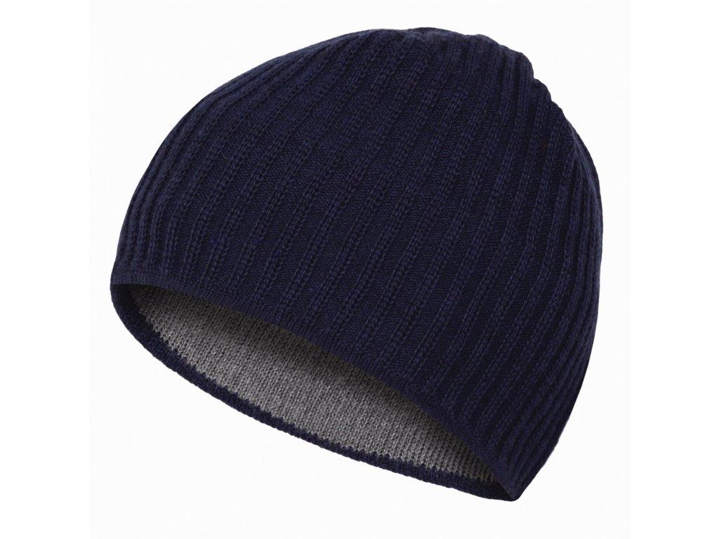Pánská čepice Cap 4 tm.modrá