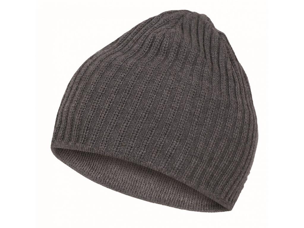 Pánská čepice Cap 4 šedá