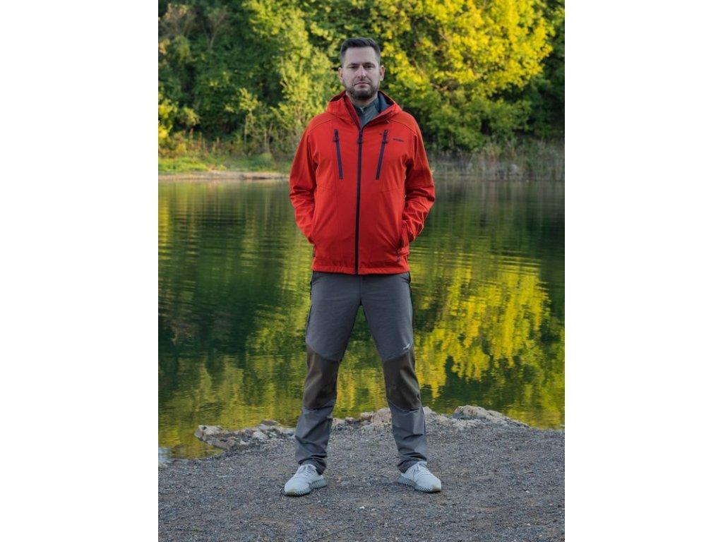 Pánské outdoor kalhoty Klass M antracit  Dárek v hodnotě 199,- zdarma