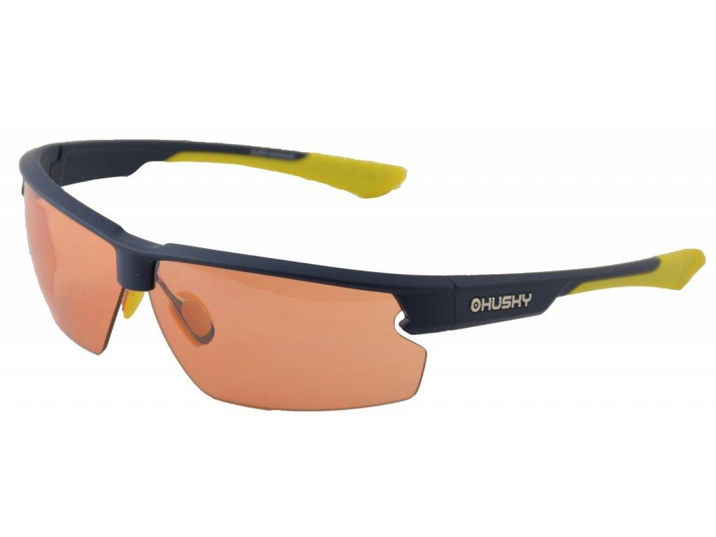 Sportovní brýle Slamy modrá/žlutá