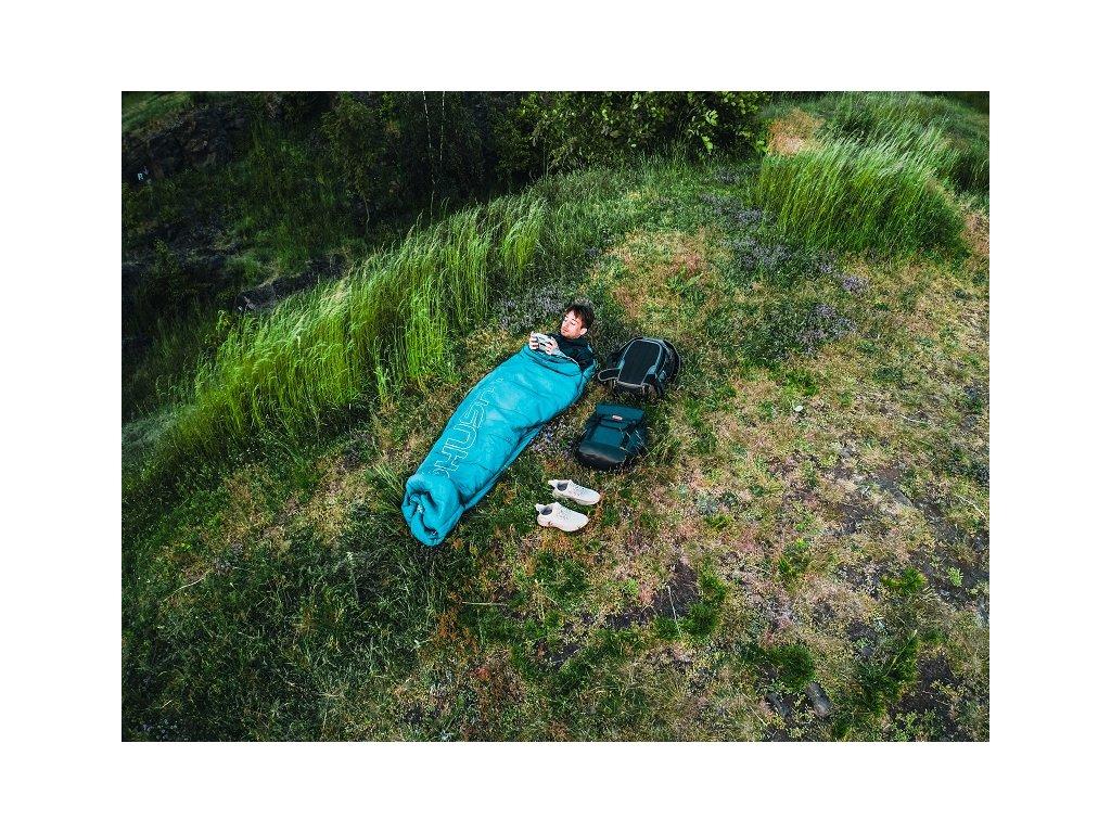 Spacák řady Ultralight Musset -3°C zelená