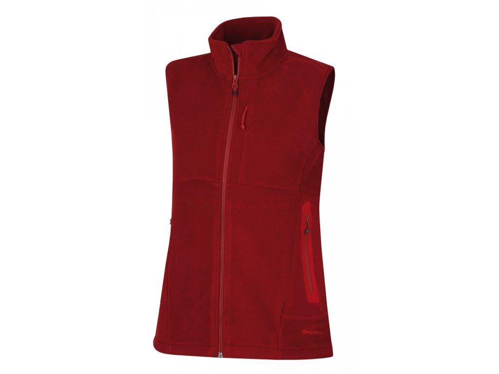 Dámská outdoor vesta Brofer L červená