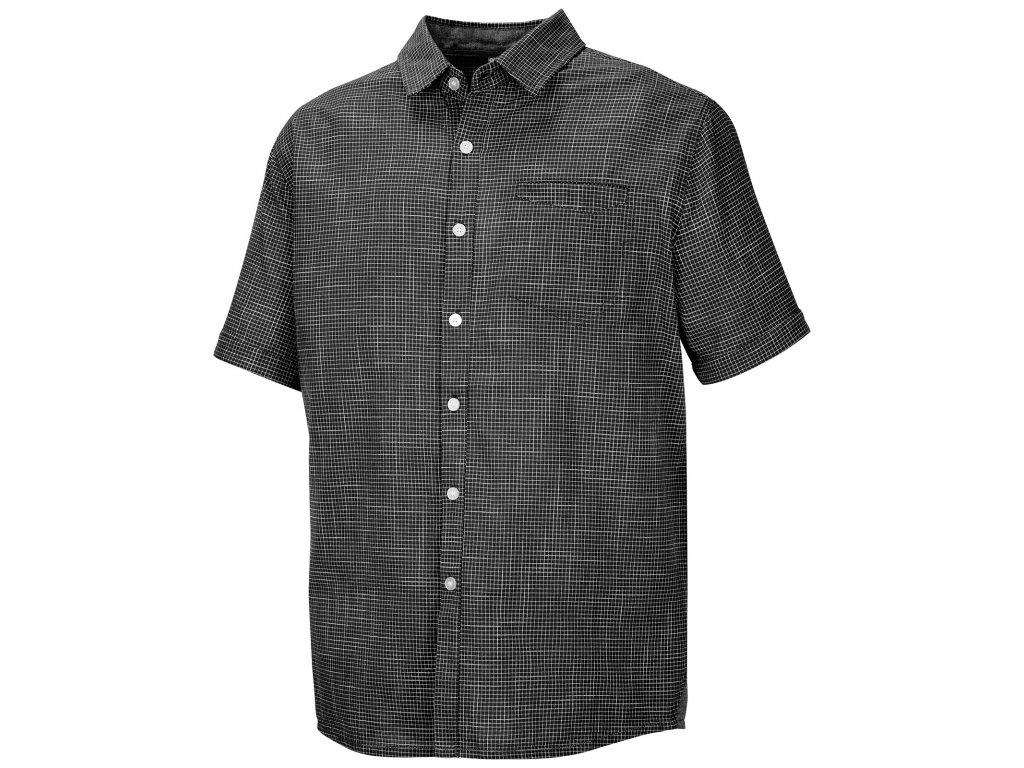 Pánská košile Grimy M černý mentol