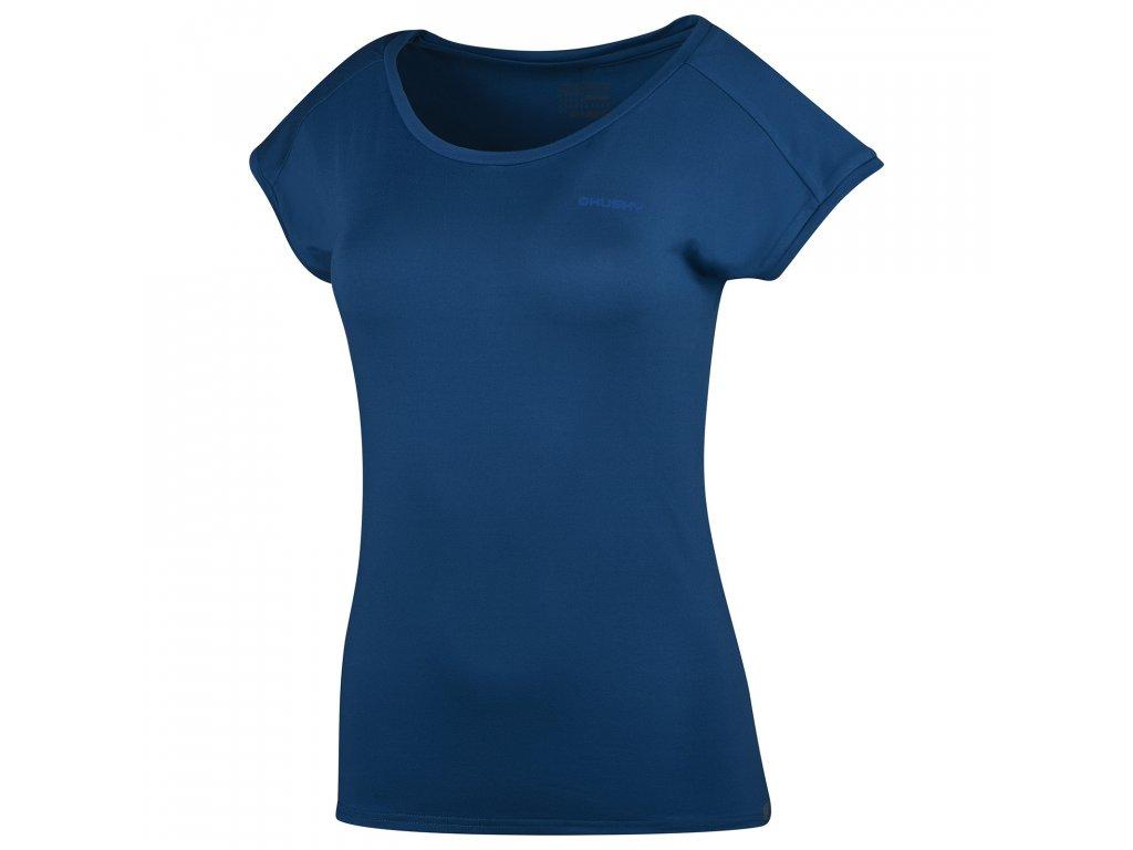 Dámské triko Tonie L tm. modrá