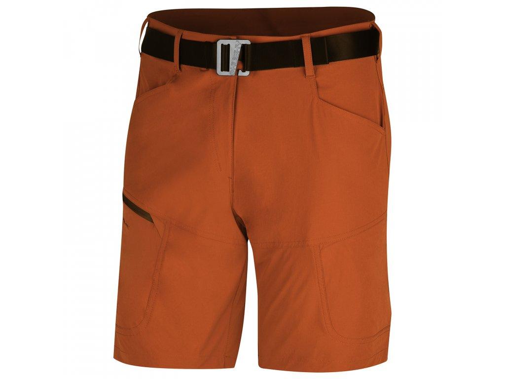 Pánské šortky Kimbi M tm. oranžová
