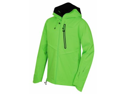 Pánská lyžařská bunda Mistral M neonově zelená  Dárek v hodnotě 199,- zdarma