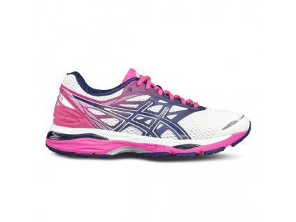 Asics Gel Cumulus 18 - white/blue/pink