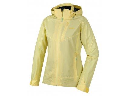 Dámská outdoor bunda Nally L sv. žlutá