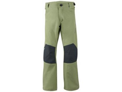 Dětské outdoor kalhoty Zony K olivová