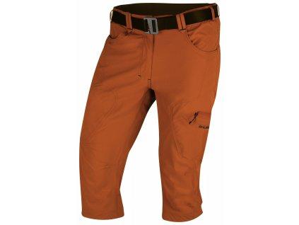 Pánské 3/4 kalhoty Klery M tm. oranžová