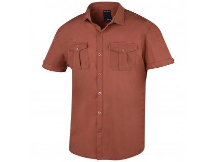 Pánská košile Gomy sv. cihlová