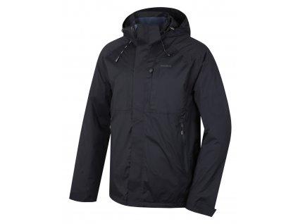 Pánská hardshell bunda Nia M černá