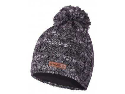 Dámská čepice Cap 28 šedá melange