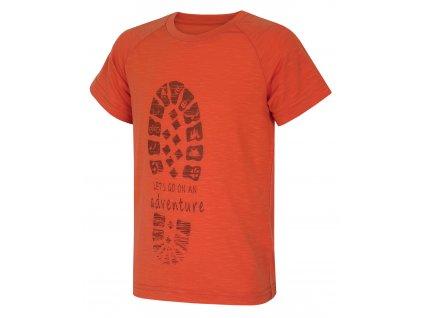 Dětské triko Zingl Kids cihlová