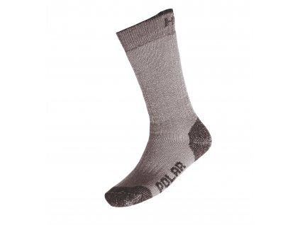 Ponožky Polar antracit