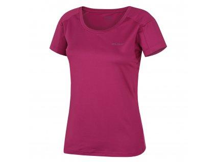 Dámské triko Taury L sv. purpurová