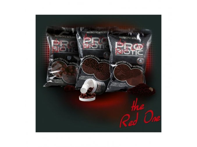 red one boilie potapive 25kg 24mm